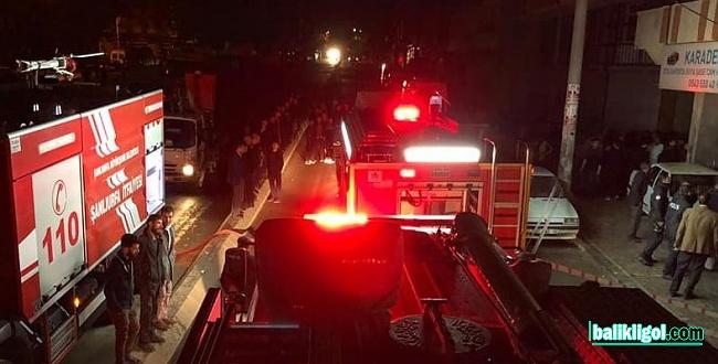 Şanlıurfa'da medikal dükkanında yangın çıktı