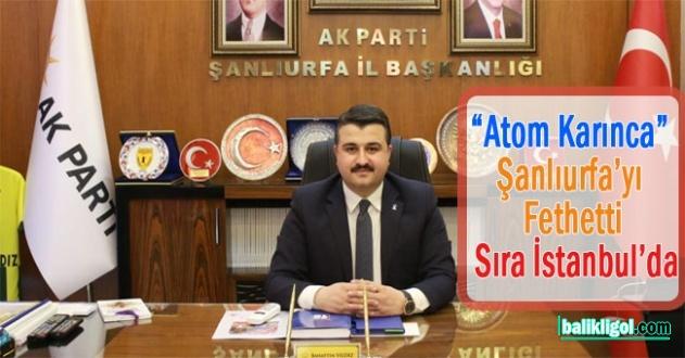 İl Başkanı Yıldız, Ekibiyle İstanbul'a Çıkarma Yaptı