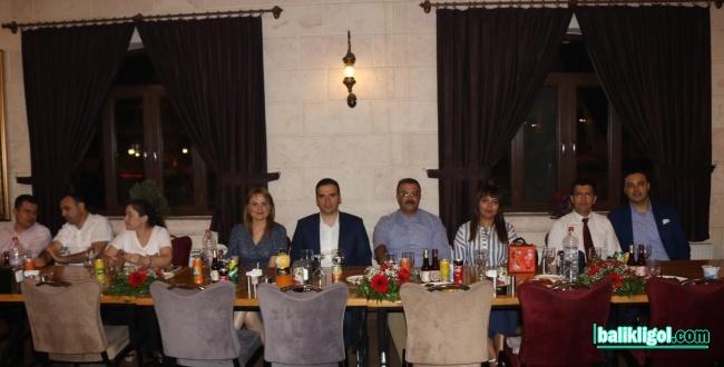 Urfa'dan Tayini Çıkan Hakim ve Savcılara Veda Yemeği