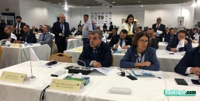 Başkan Beyazgül, Uclg-Mewa Kongresi İçin Amman'a Gitti
