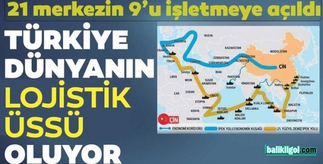 Türkiye 2 trilyon dolarlık ticaretin merkez üssü oluyor