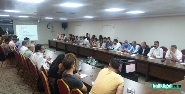 Urfa'da Eğitimciler Uyuşturucuyla Mücadele için Eğitiliyor