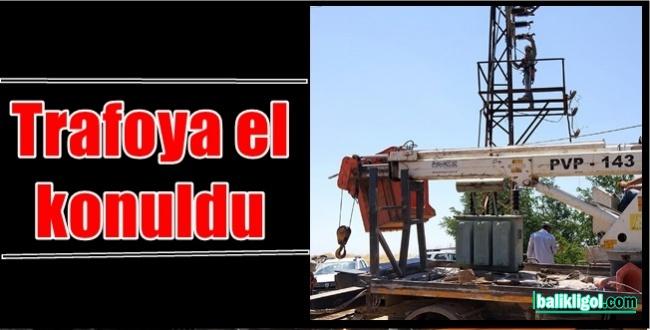 Urfa'da Kaçak Trafoya Savcılık Kararıyla El Konuldu