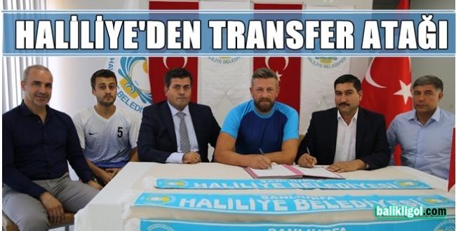 1. Ligi'nde mücadele eden Haliliye Belediyespor ligde iddialı