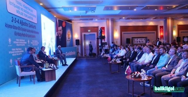 Ak Parti Başkanları Şanlıurfa'da Deneyimlerini Paylaştı
