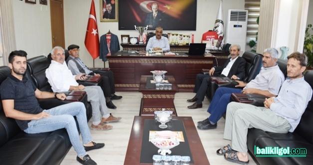Başkan Aydın'dan Başkan Bayık'a hayırlı olsun ziyareti