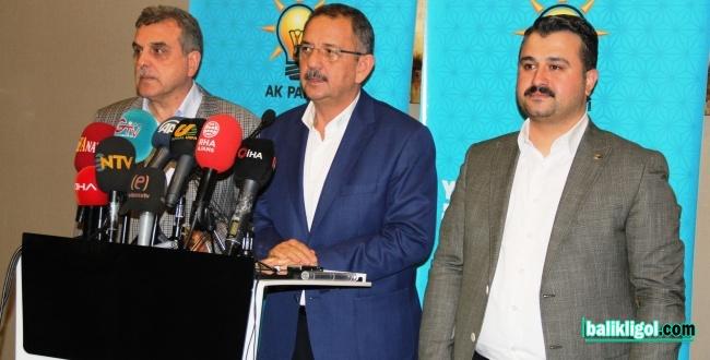 Mehmet Özhaseki: Bölgemiz İçin Çok Verimli Toplantılar Gerçekleştirdik