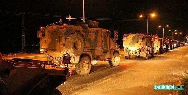 Şanlıurfa'da sınıra askeri araçlar takviye yapıyor