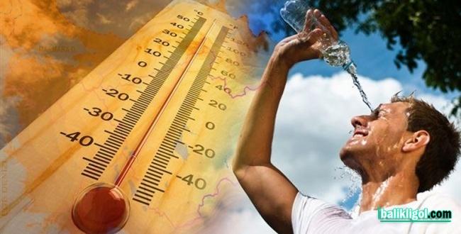 Sıcaklar Urfa'yı Yakıyor