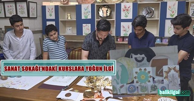 Urfa'da gençler el sanatını öğreniyor