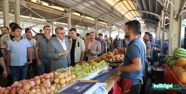 Urfa'daki Semt Pazarlarında Soğutma Sistemi Uygulaması Yaygınlaştırılıyor