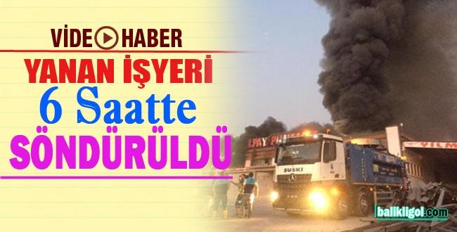 Urfa'daki Tüm Ekipler Müdahale Ettiği Yangın 6 Saat Sürdü-GÖRÜNTÜLÜ