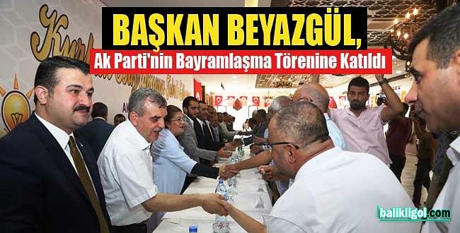 Urfa'da AK Parti Teşkilatı Vatandaşlarla Bayramlaştı