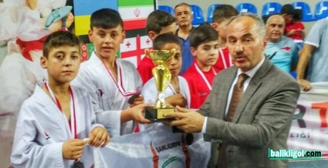 Urfa'nın takımı 2 kupa, 7 madalya aldı