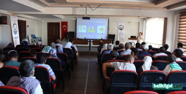 Hilvan'da, uyuşturucu ile mücadele konferansı