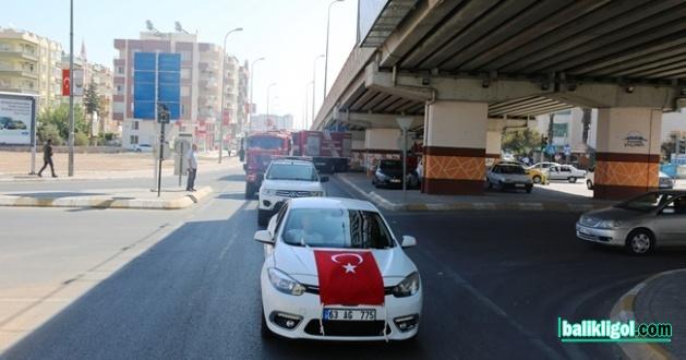 İtfaiyecilik Haftası Şanlıurfa'da Şehir Turu İle Başladı