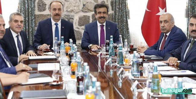 Karacadağ Kalkınma Ajansı Yönetimi Diyarbakır'da Toplandı