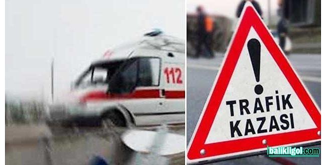 Şanlıurfa – Gaziantep yolunda kaza: 1 ölü, 7 yaralı