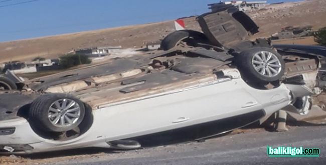 Şanlıurfa Viranşehir yolunda trafik kazası