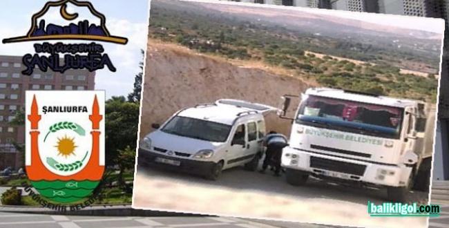 Şanlıurfa Büyükşehir Belediyesi: Araçların belediyemizle alakası bulunmamaktadır