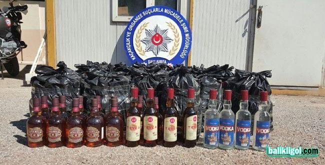 Şanlıurfa'da Kaçak İçki Operasyonu: 1 Tutuklama