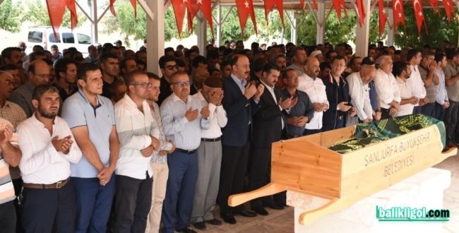 Şehid Abdulselam Halat'ın Babası Medet, Dualarla Defnedildi