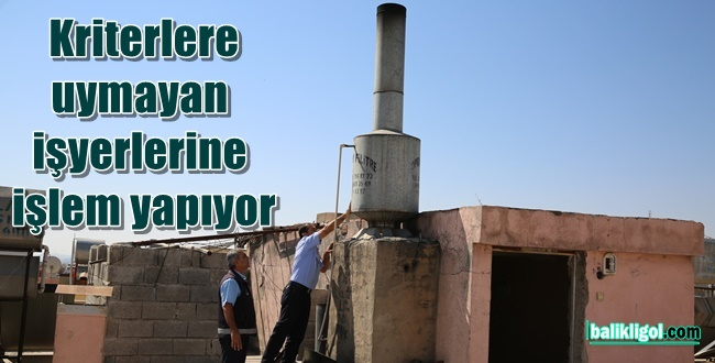 Urfa'da Zabıta Fırın Bacalarını Denetliyor