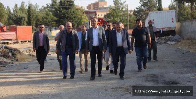 Başkan Kuş, Evran Sanayi Sitesini ziyaret etti.