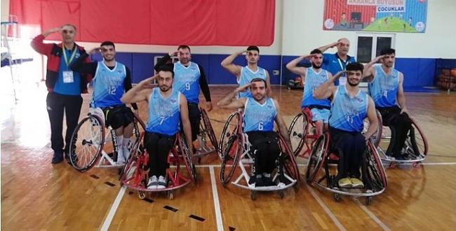 Ceylanpınar Belediyesi Bedensel Engelliler Spor, İskenderun Engelliler Spor: 62-56