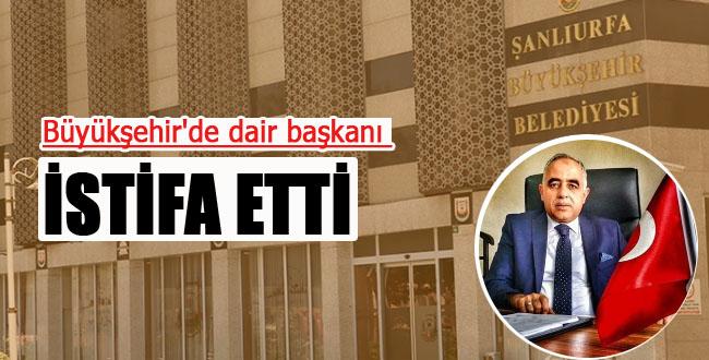Flaş Gelişme! Büyükşehir'de dair başkanı istifa etti
