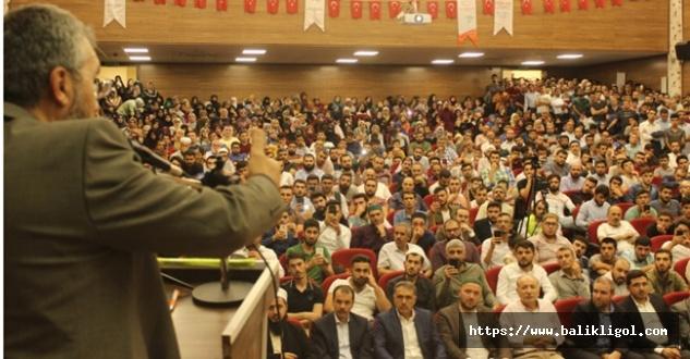 İhsan Şenocak Urfa'da Konuştu: Selahaddinler Kudüs'e Tekrar Gireceklerdir