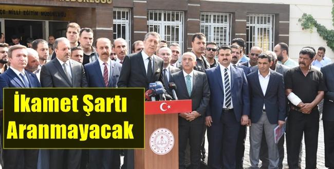 MEB Bakanı Selçuk Akçakale'de Flaş açıklamalarda Bulundu