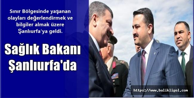 Sağlık Bakanı Fahrettin Koca Urfa'ya Geldi