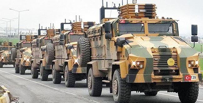 Şanlıurfa sınırında Kobani için askeri hareketlilik sürüyor