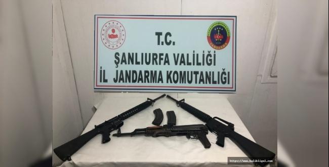 Siverek'te Operasyon: 1 Şahısta 3 Uzun Namlulu Silah Yakalandı