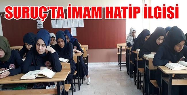 Suruç Kız Anadolu İmam Hatip Lisesi İddialı