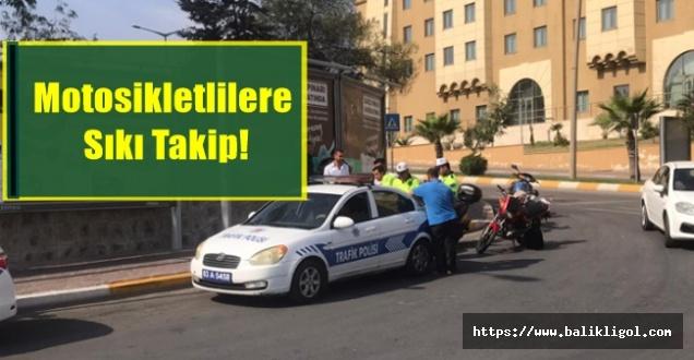 Urfa'da Motosikletlilere Sıkı Takip!