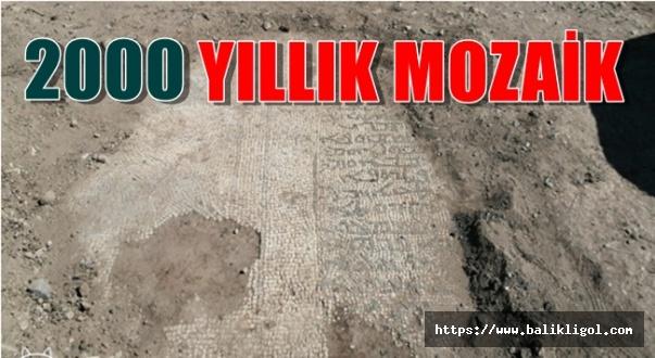 Urfa'da Bir Evin Bahçesinde Roma Dönemine Ait Mozaikler Çıktı