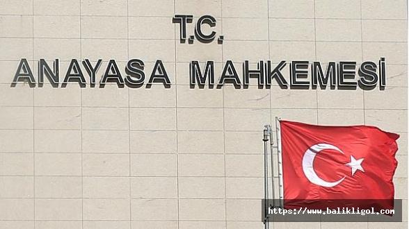 Anayasa Mahkemesinin Kararı Resmi Gazetede Yayınlandı