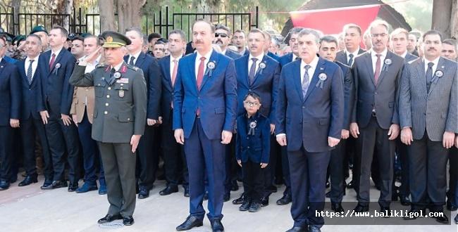 Atatürk'ün ölüm yıl dönümünde Şanlıurfa'da töreni düzenlendi