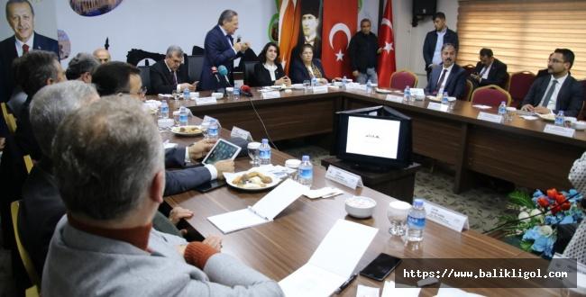 Cumhurbaşkanlığı Yerel Yönetim Politikaları Kurulu, Şanlıurfa'nın Geleceğini Konuştu