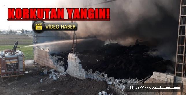 Dün Akçakale, Bugün Haliliye'de Çırçır Fabrikası Yandı