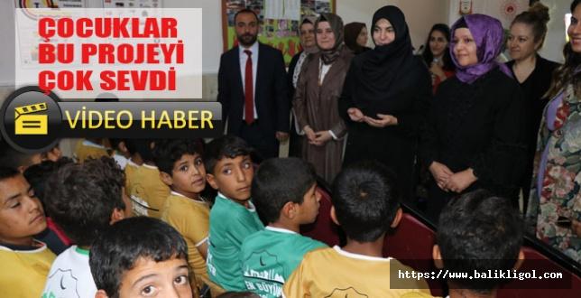 Eyyübiye'nin Yamaçaltı İlk ve Ortaokulunda Sıfır Atık Anlatıldı