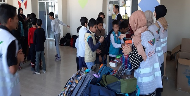 Genç İyilik Gönüllüleri Şanlıurfa'da