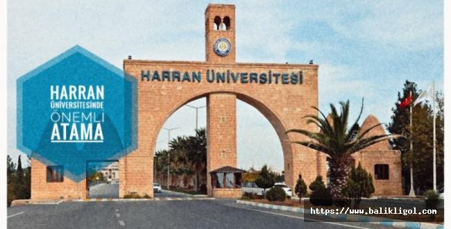 Harran Üniversitesinde Yeni Dekan Atandı