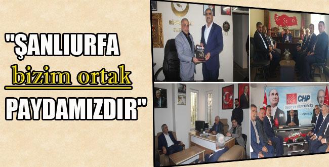 HÜDA PAR Urfa'da Parti İl Başkanlarını Ziyaret Etti