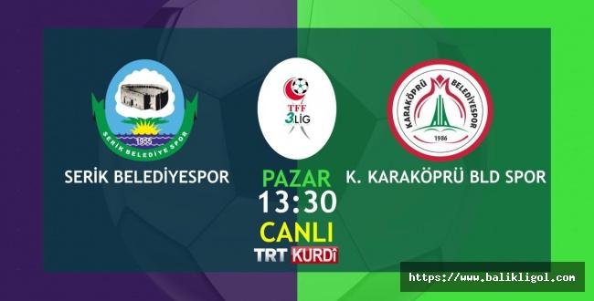 Karaköprüspor Maçı TRT Kurdi'de Canlı Yayınlanacak
