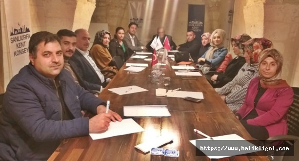 Kent Konseyi Şehit ve Gazi Aileleri ile Dayanışma Gurubu Toplantısı