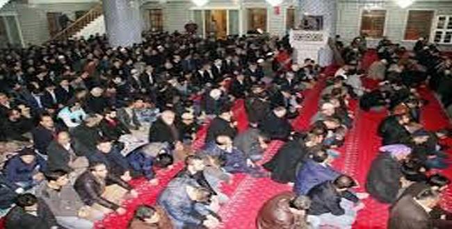 Şanlıurfa'da Mevlit Kandili'nde Camiler Doldu Taştı