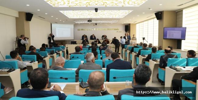Şanlıurfa Büyükşehir Meclisinde Bütçe Görüşmeleri